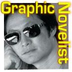 Malcolm Wong, Graphic Novelist, script writer,  based in Tokyo  in 2008 publshed Graphic Novel DOG EATERS - a tale of post-petroleum-apocalyptic